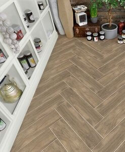 Elegant Fake Wood Floor Tiles