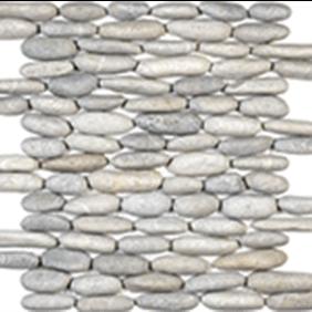 Vitality Mica Stacked Pebble Mosaics
