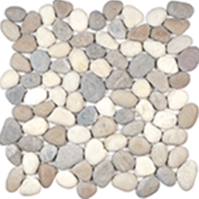 Harmony Warm Blend Natural Pebble Mosaics