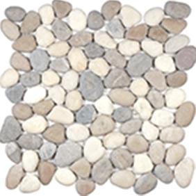 Harmony Warm Blend Natural Pebble Mosaics